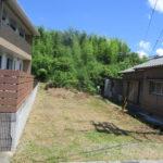 559志摩市阿児町鵜方800万円481坪鵜方小学校近くの高台山林です。某団地の南側です。